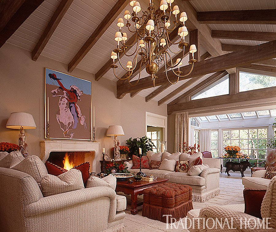 Homey Traditional Living Room 25 Years Of Beautiful Living Rooms