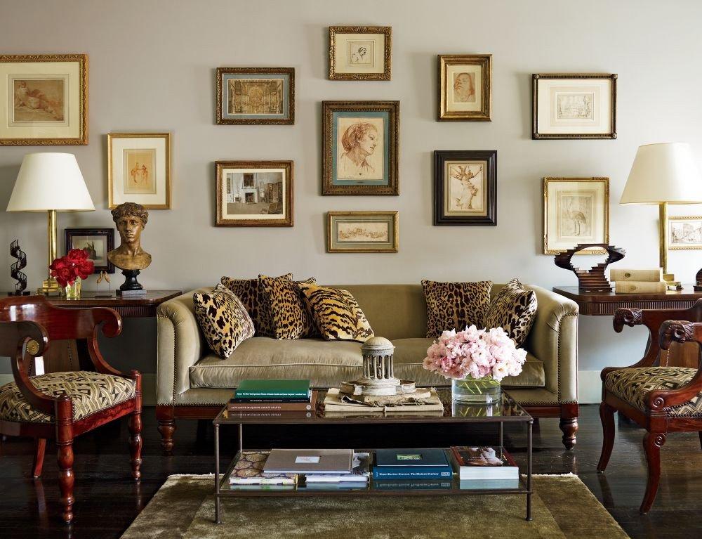 Homey Traditional Living Room Nina Gris and Leonel Piraino S Traditional Living Room