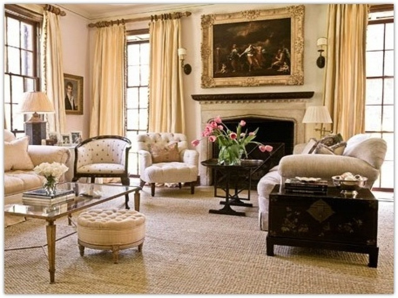 Homey Traditional Living Room Traditional Decorating Traditional Home Living Room