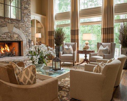 Homey Traditional Living Room Traditional Living Room Design Ideas