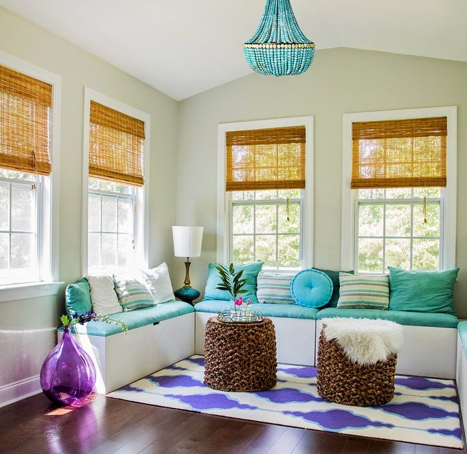How to Decor Living Room How to Decorate Your Living Room with Turquoise Accents