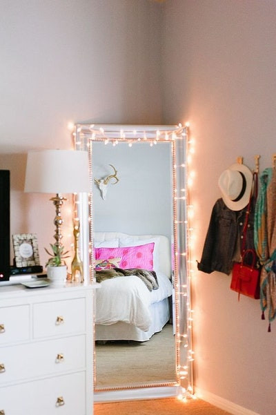 How to Decorate Your Bedroom Creative Ways to Decorate Your Bedroom with String Lights