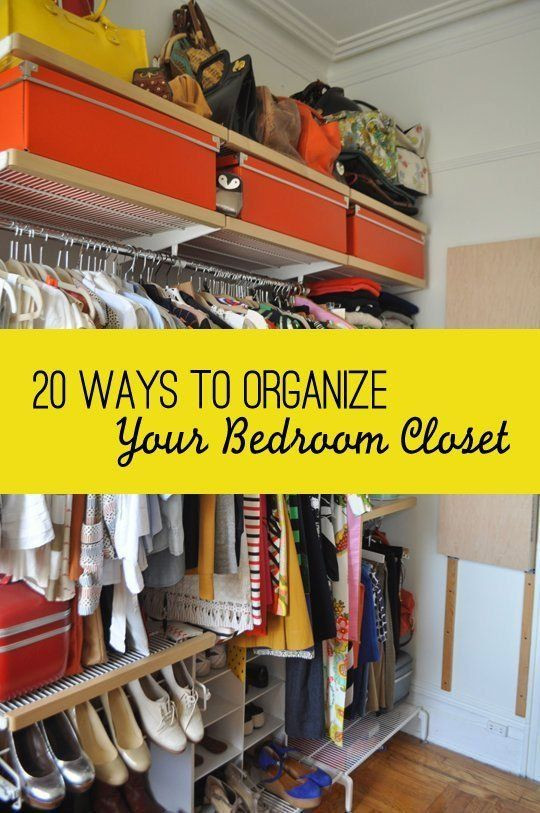 How to organize A Bedroom 20 Smart Ways to organize Your Bedroom Closet
