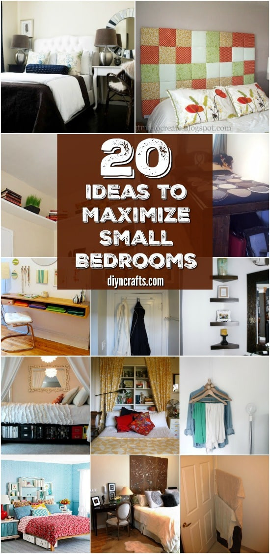 How to organize A Bedroom 20 Space Saving Ideas and organizing Projects to Maximize