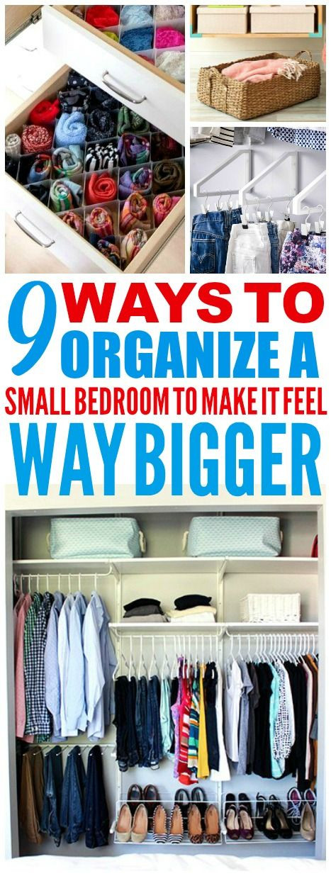 How to organize A Bedroom 9 Super Efficient Ways to organize Your Small Bedroom
