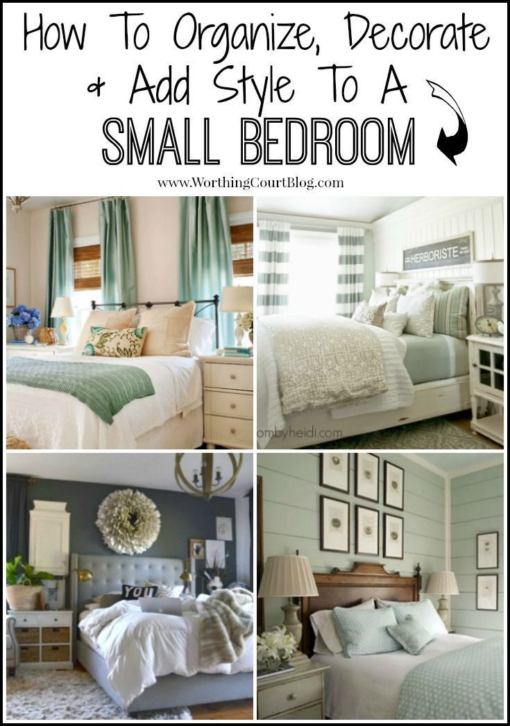 How to organize A Bedroom How to Decorate organize and Add Style to A Small Bedroom
