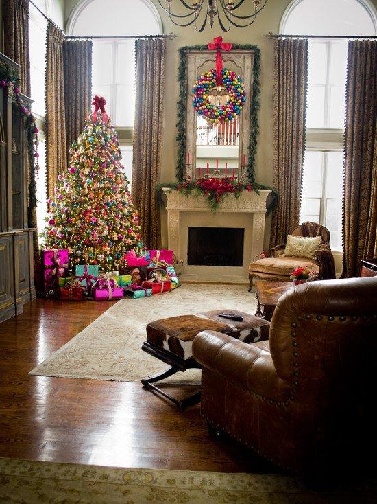 Ideas for Living Room Decor Christmas Living Room Decorations Ideas &