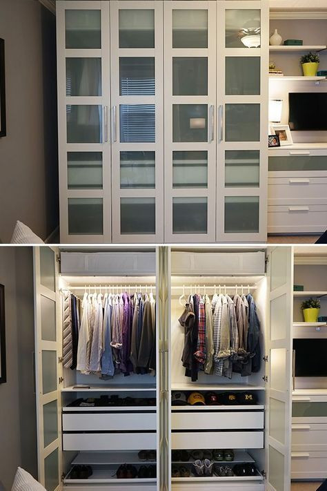 Ikea Bedroom Furniture Wardrobes 45 Ideas for Bedroom Storage Wardrobe Built Ins Ikea Pax