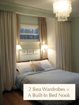 Ikea Bedroom Furniture Wardrobes Add Storage Space with Bedroom Built Ins and Romantic