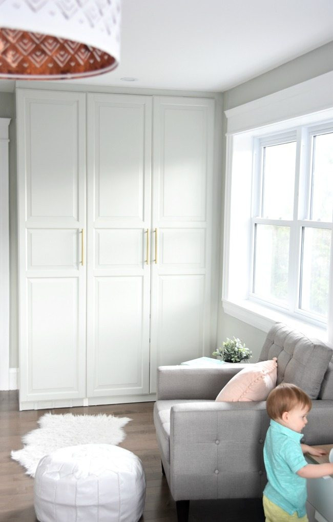 Ikea Bedroom Furniture Wardrobes Get A Stunning Closet with This Ikea Pax Hack the Sweetest