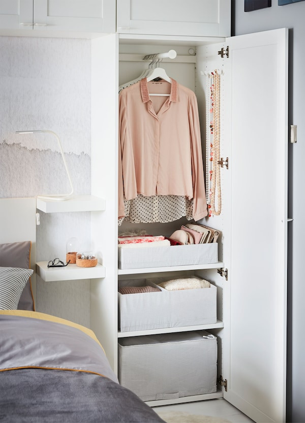 Ikea Bedroom Furniture Wardrobes How to Create More Storage Space for Bedroom Ikea
