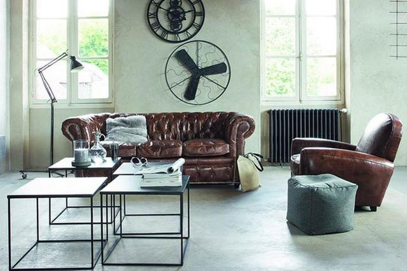 Industrial Contemporary Living Room 15 Stunning Industrial Living Room Designs Rilane