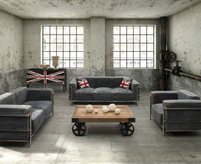 Industrial Contemporary Living Room Amazing Contemporary Gray Rooms You Don't Want to Miss