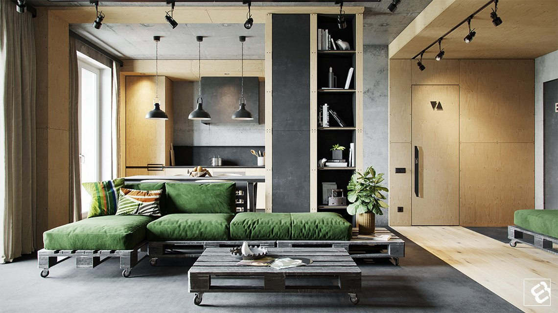 Industrial Contemporary Living Room Industrial Style Living Room Design the Essential Guide