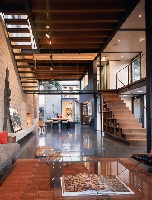 Industrial Contemporary Living Room Modern Living Room Industrial Living Room Los