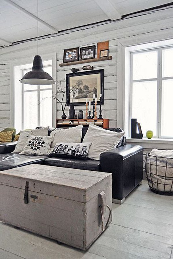 Industrial Modern Living Room Decorating Ideas 20 Inspirational Industrial Living Room Designs