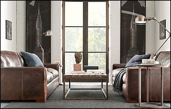 Industrial Modern Living Room Decorating Ideas Decorating theme Bedrooms Maries Manor Industrial Style