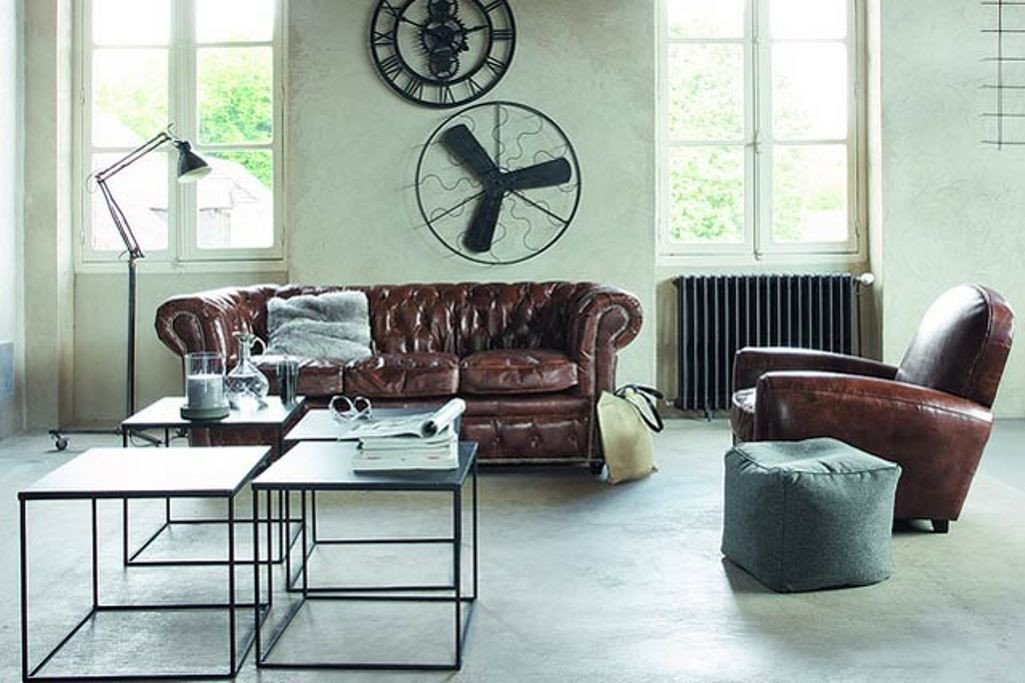 Industrial Modern Living Room Decorating Ideas Modern Industrial Living Room