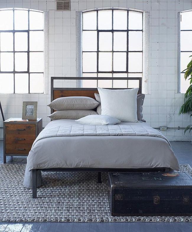 Industrial Style Bedroom Furniture Industrial Style Bedroom Furniture Homegirl London