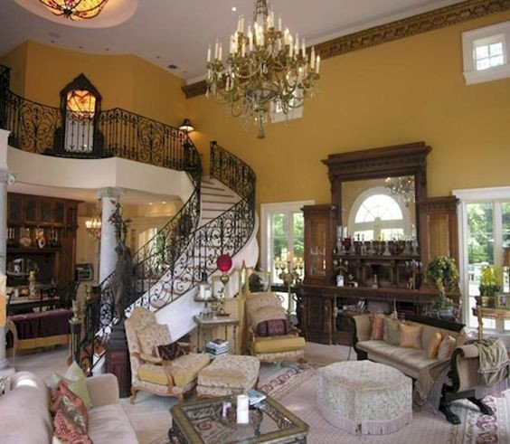 Italian Living Room Decorating Ideas Country Style Living Room In Italian Decoration 24 Living