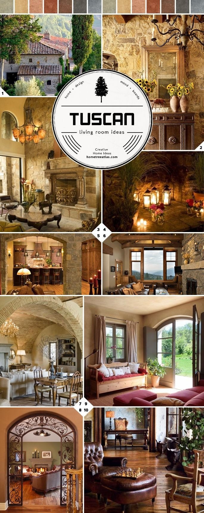 Italian Living Room Decorating Ideas From Italy Tuscan Living Room Ideas
