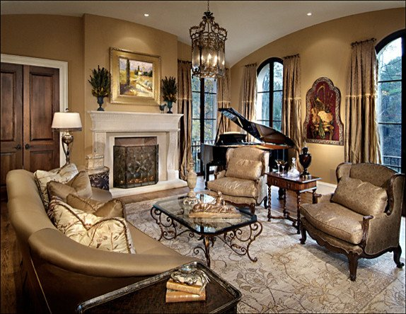 Italian Living Room Decorating Ideas Italian Luxury Traditional Living Room atlanta by