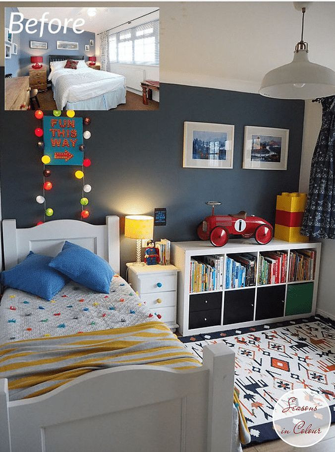 Kids Bedroom for Boy Illusion Collection