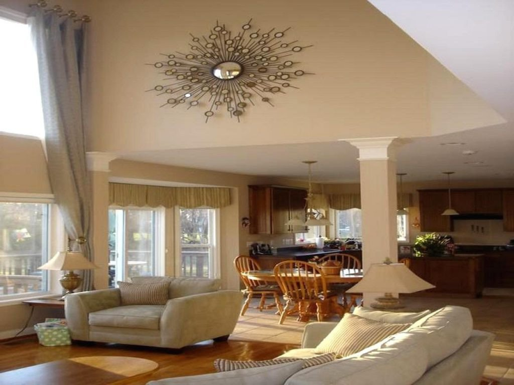 Large Living Room Wall Decor 42 Decorating Ideas for Open Living Room Living