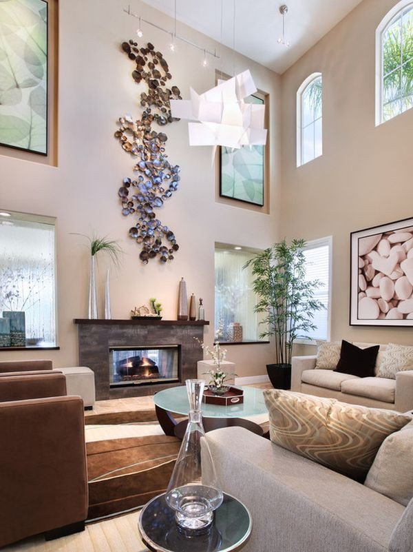 how to decorate a large living room to make it feel cosy