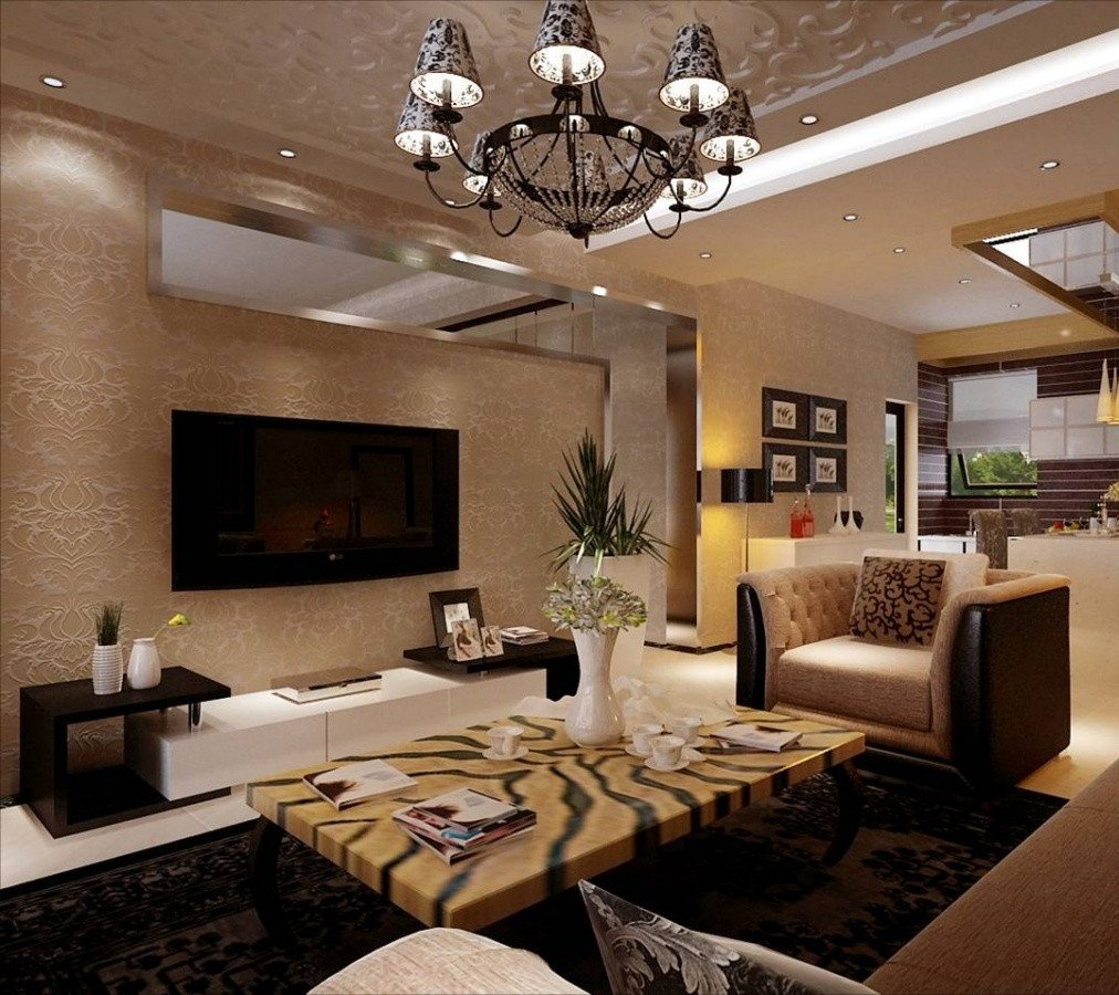 Large Living Room Wall Decor Impress Guests with 25 Stylish Modern Living Room Ideas