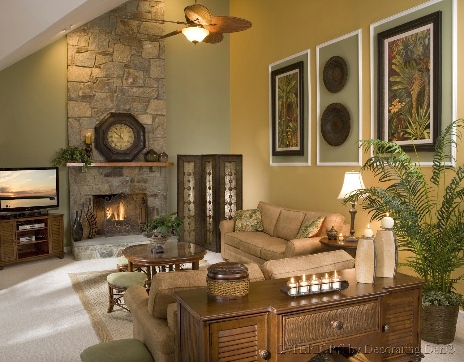 Large Living Room Wall Decor Key Interiors by Shinay How to Decorate with High Ceilings