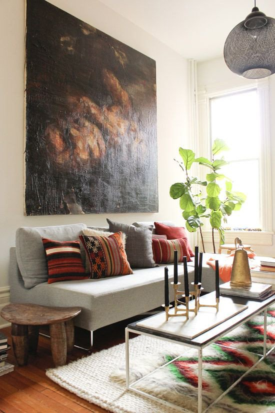 Large Living Room Wall Decor the Latest Décor Trend 31 Scale Wall Art Ideas