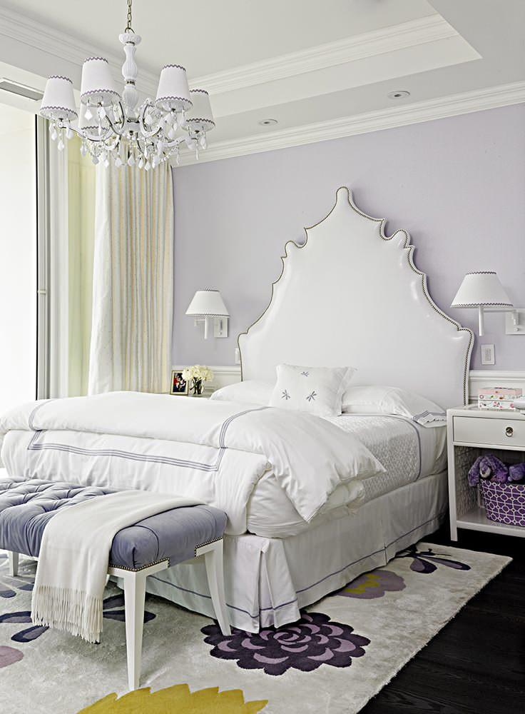 Lavender and Gray Bedroom 10 Bedrooms to Inspire You to Go Lavender