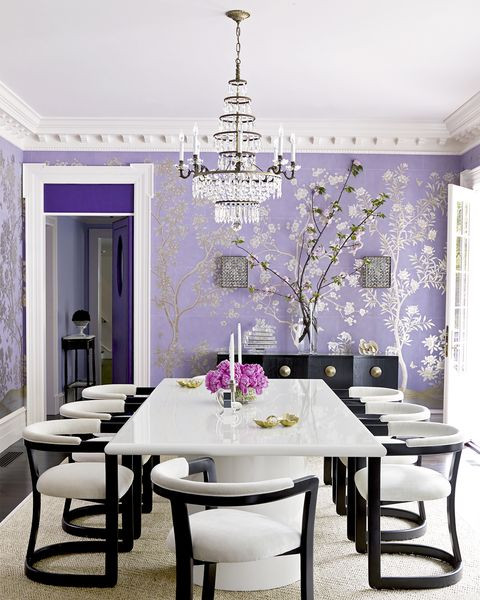 Lavender and Gray Bedroom 18 Best Purple Rooms Lavender Lilac and Violet Decorating