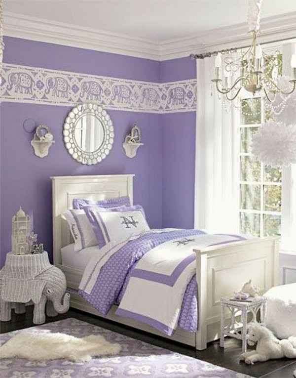 Lavender and Gray Bedroom 80 Inspirational Purple Bedroom Designs & Ideas Hative