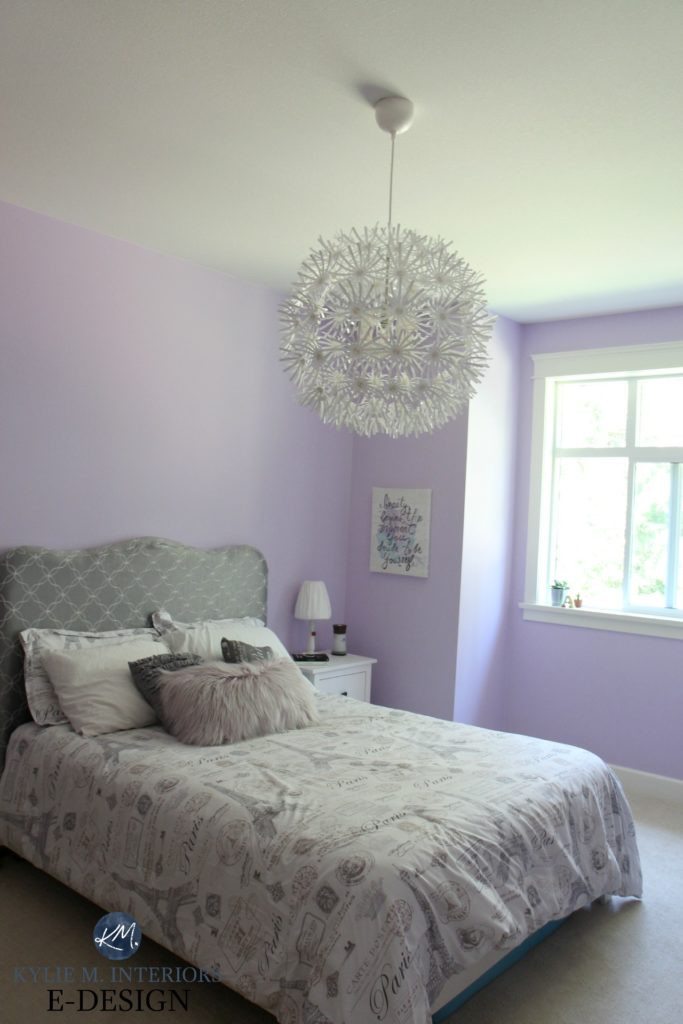 Lavender and Gray Bedroom Best Purple Paint Colour Benjamin Moore Lily Lavender In