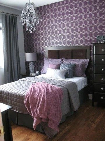 Lavender and Gray Bedroom Glamorous Lavender and Gray Bedroom Nice Balance Of
