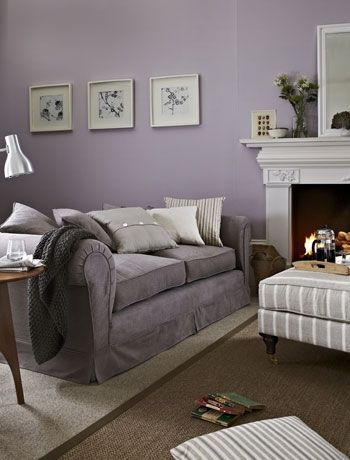 Lavender and Gray Bedroom Grey and Mauve Living Room Wallpaperall with Images