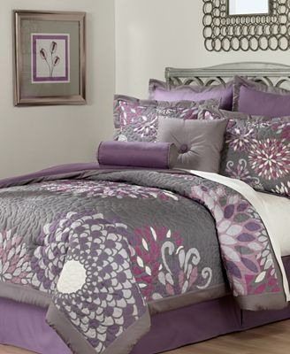 Lavender and Gray Bedroom Lavender & Gray Bedroom