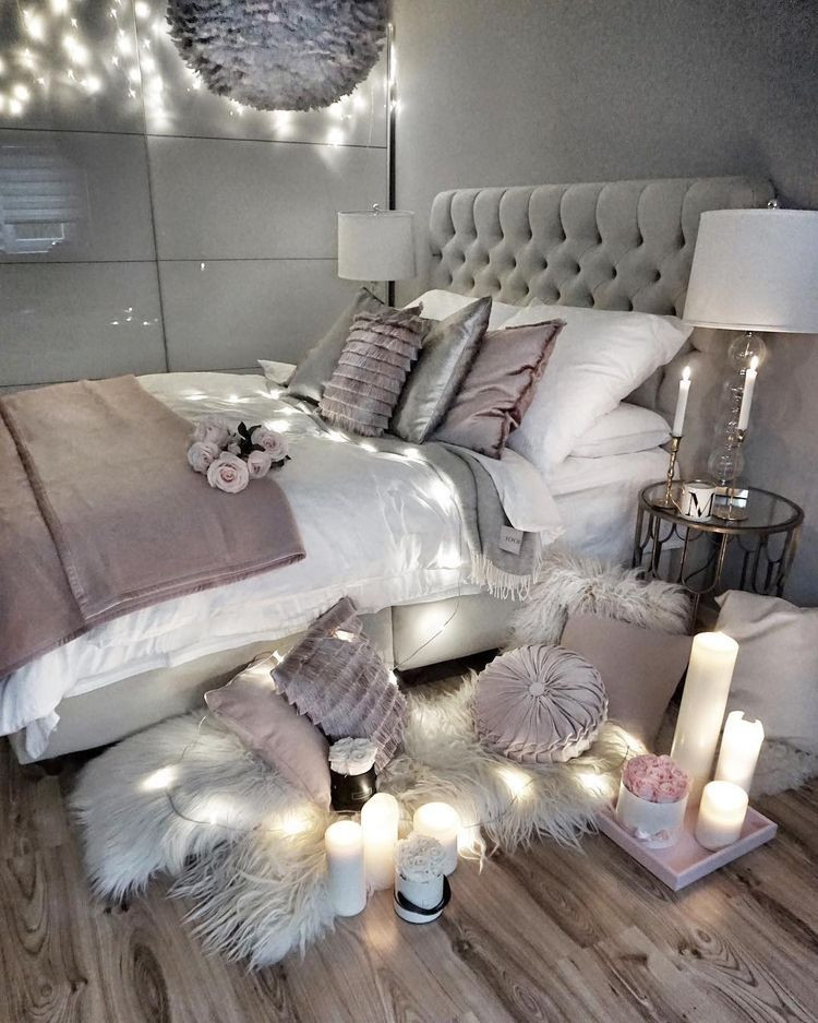 Lavender and Gray Bedroom Mauve and Gray and Silver with Images