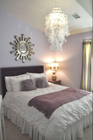 Lavender and Gray Bedroom Project Plete before & after Tween Bedroom