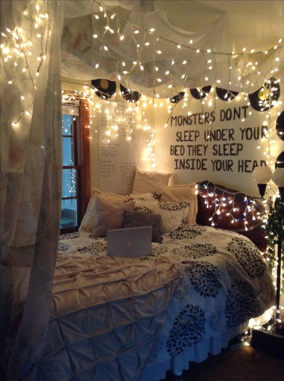 Led Lighting for Bedroom 35 Fantastic Led String Lights Decor Girls Bedroom