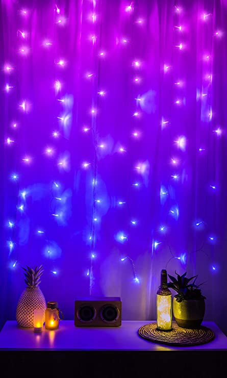 Led Lighting for Bedroom Amazon Merkury Innovations Cascading Led Window