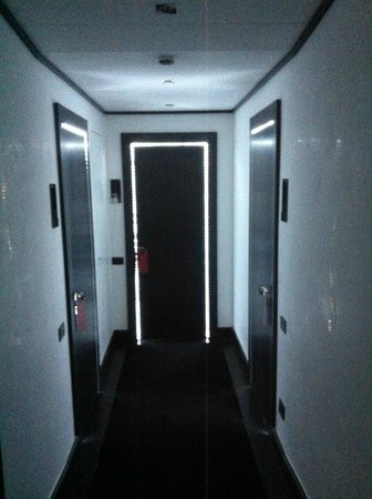 Led Lighting for Bedroom Hallway Leading to Bedroom with Led Lights Around Doorway