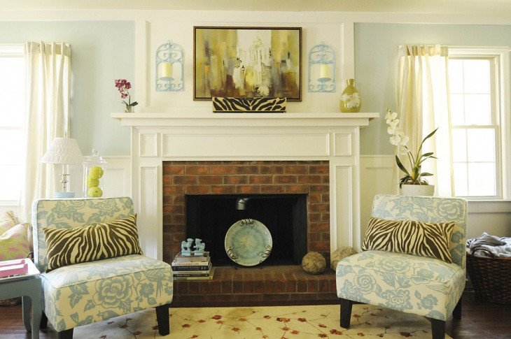 Leopard Decor for Living Room 19 Blue Living Room Designs Decorating Ideas
