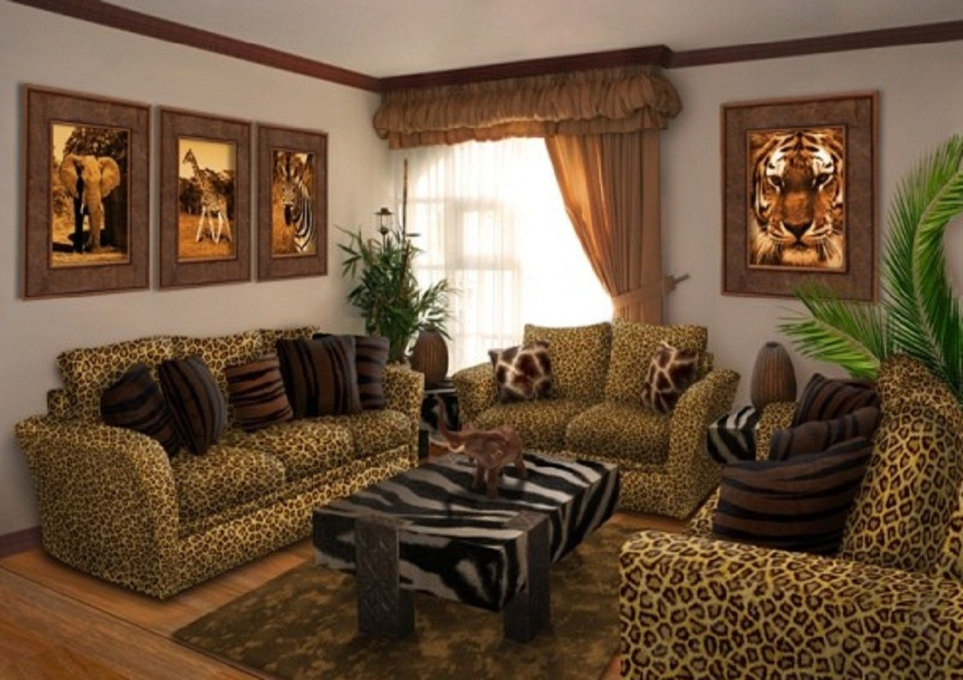Leopard Decor for Living Room Bathroom Decoration 1765 Best Cozy Very Small Decorating