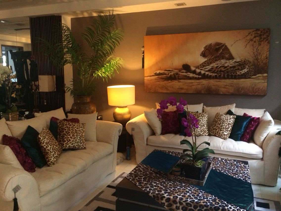 Leopard Decor for Living Room Burgundy Teal and Leopard Print Living Room Decor