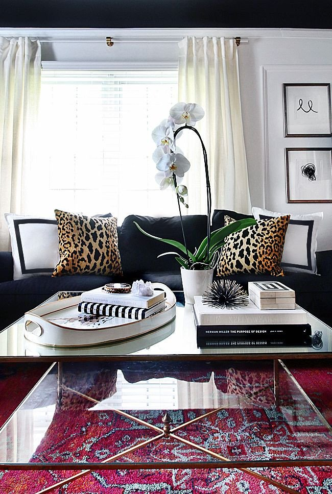 Leopard Decor for Living Room Leopard is A Neutral Living Room Stying