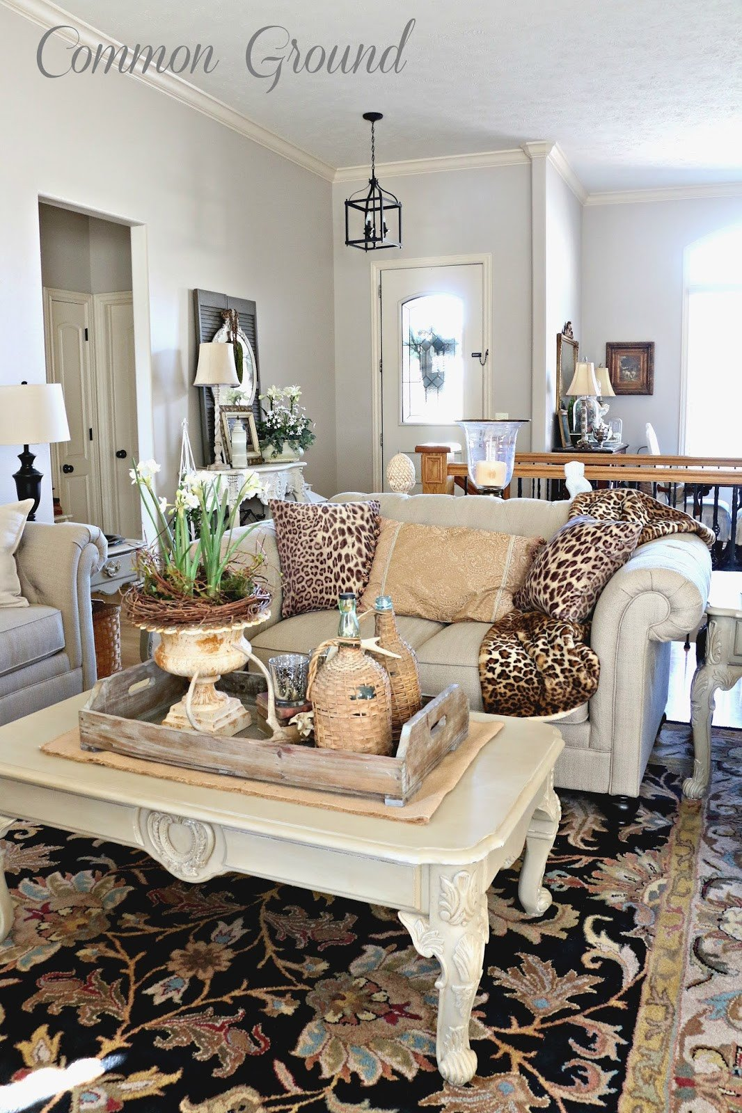 Leopard Decor for Living Room Mon Ground the Living Room and Leopard Print Pillows