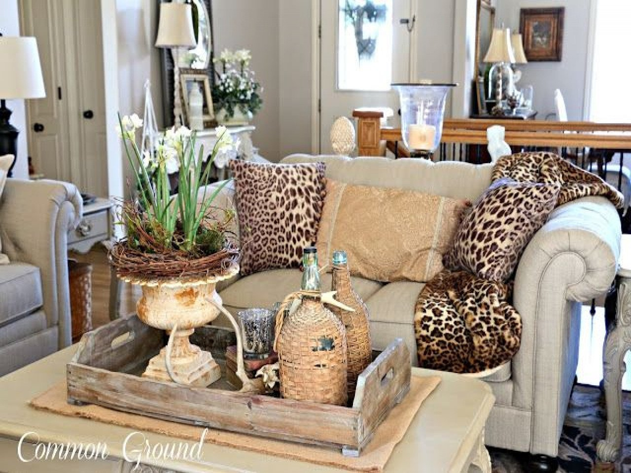 Leopard Decor for Living Room the Living Room and Leopard Print Pillows More Rooms